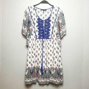 Signature Studio Bohemian Short Dress